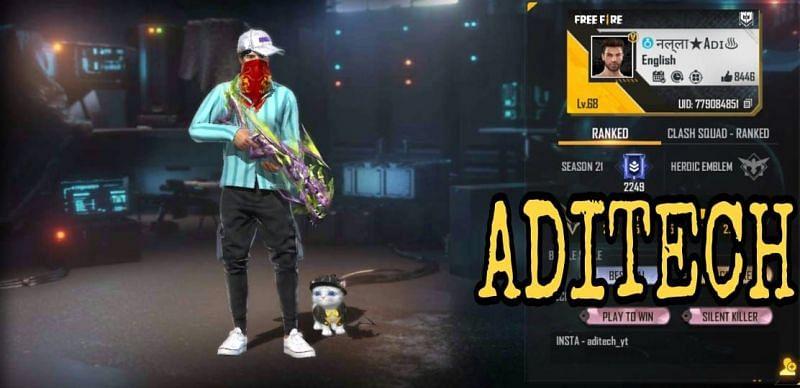 Aditech की Free Fire ID