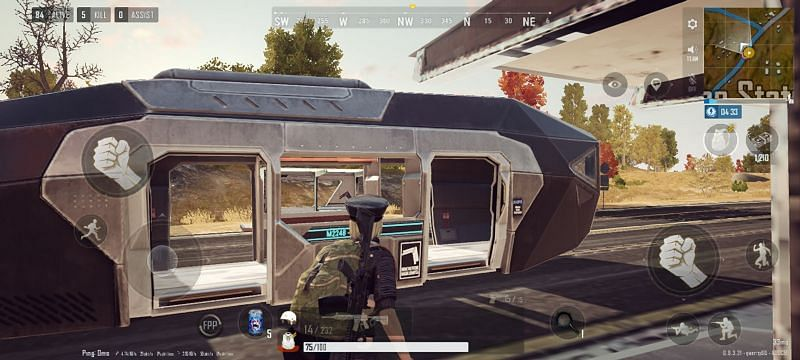 Trams are the new features in PUBG New State (Image via PUBG New State)