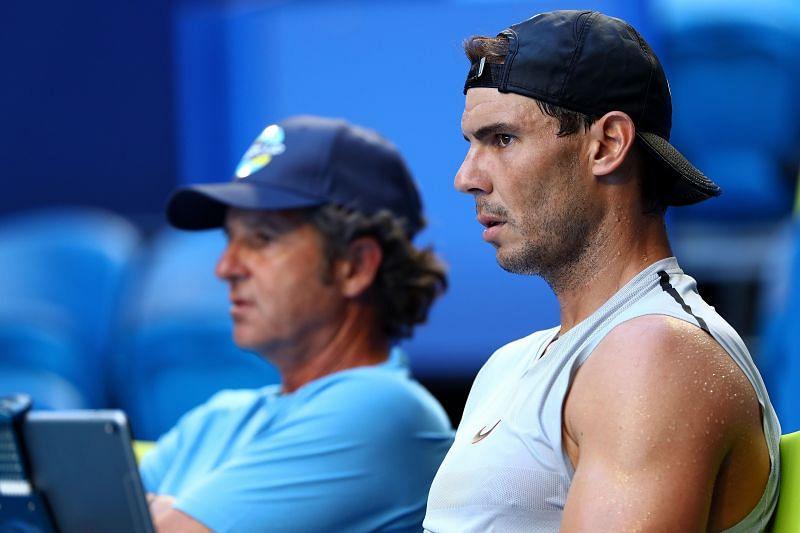 Francisco Roig and Rafael Nadal