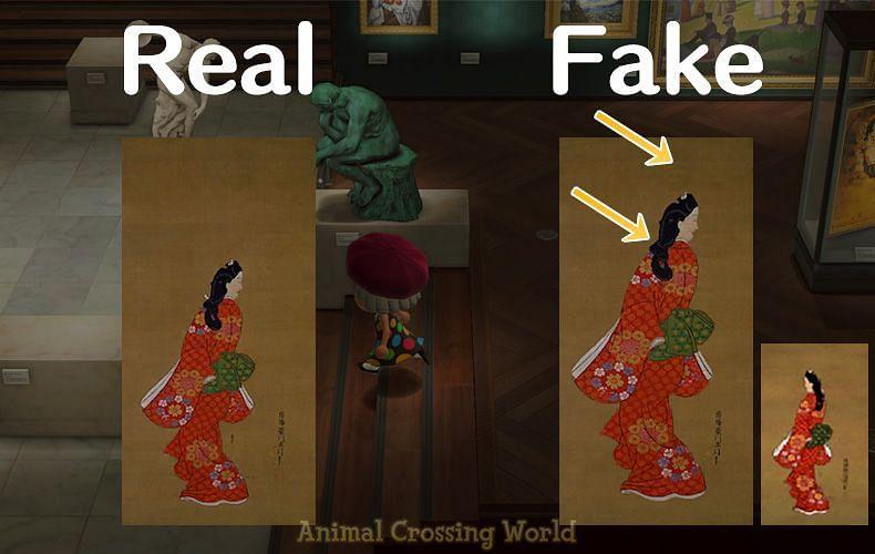 Graceful Painting. Image via Animal Crossing World