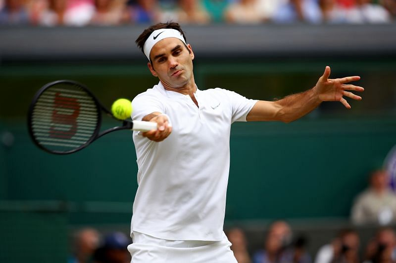 Roger Federer is the fifth seed at Halle
