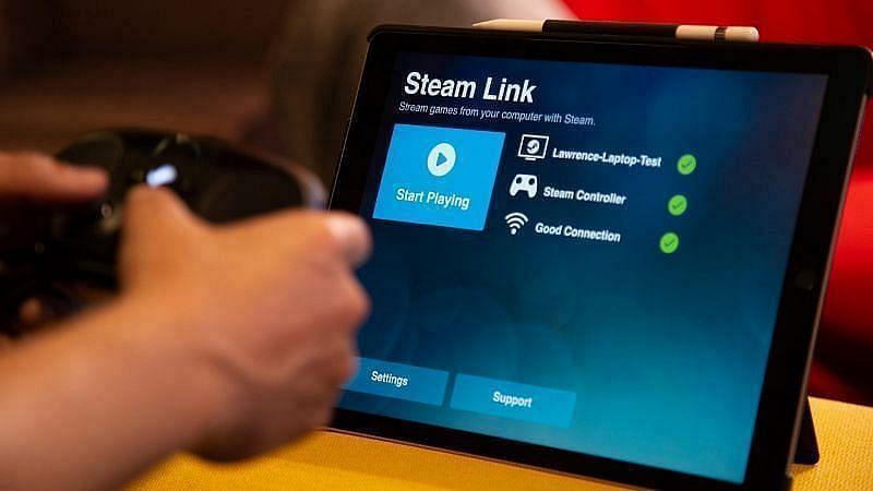 Spelers kunnen Steam Link gebruiken om GTA 5 op Android-smartphones te spelen (Afbeelding via 9to5Mac)