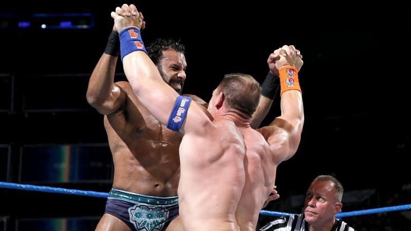 John Cena derrotó a Jinder Mahal en WWE SmackDown en 2017