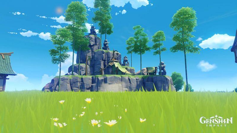 Genshin Impact fans will soon be able to garden here (Image via Genshin Impact Reddit)