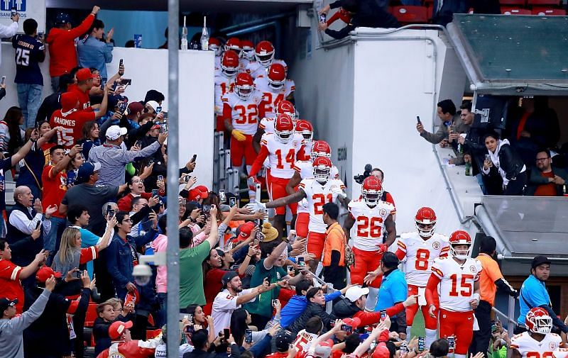 Kansas City Chiefs v Los Angeles Chargers, in Mexico City