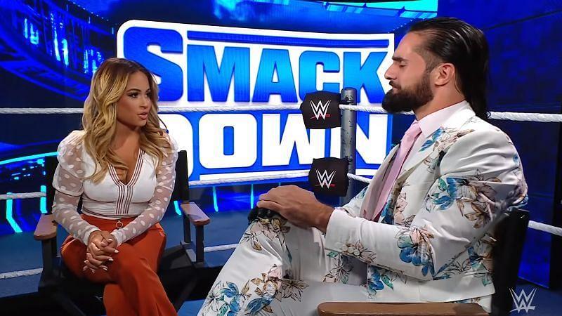Seth Rollins did not like Kayla Braxton