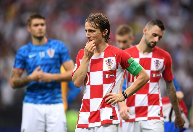Luka Modric experiences the agony of World Cup final defeat in 2018