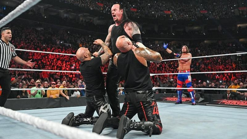 The Undertaker at Elimination Chamber 2020