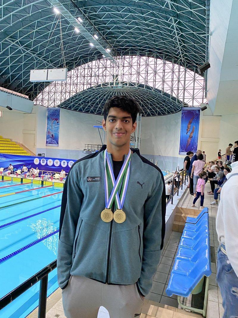 Srihari Natraj is one of the future stars of Indian swimming
