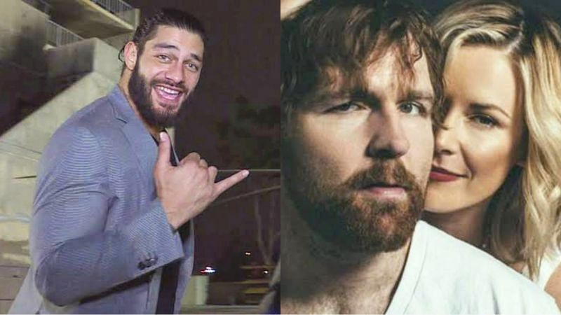 Roman Reigns; Jon Moxley and Renee Paquette