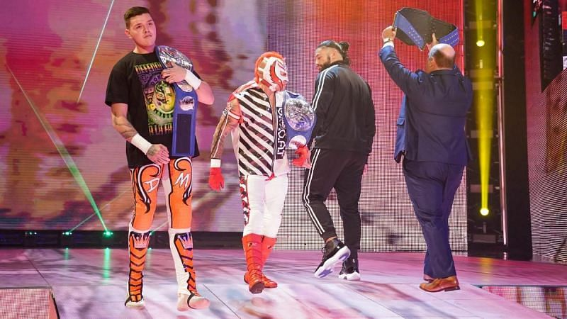 Rey Mysterio could be Roman Reigns