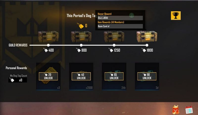 Free room card can be obtained by the players via guild tournaments