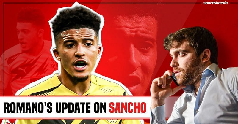 Manchester United have been heavily linked with Jadon Sancho