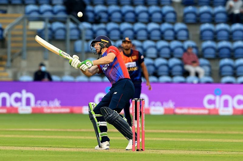 Jos Buttler in action during the first T20I against Sri Lanka. (Pic: Getty Images)