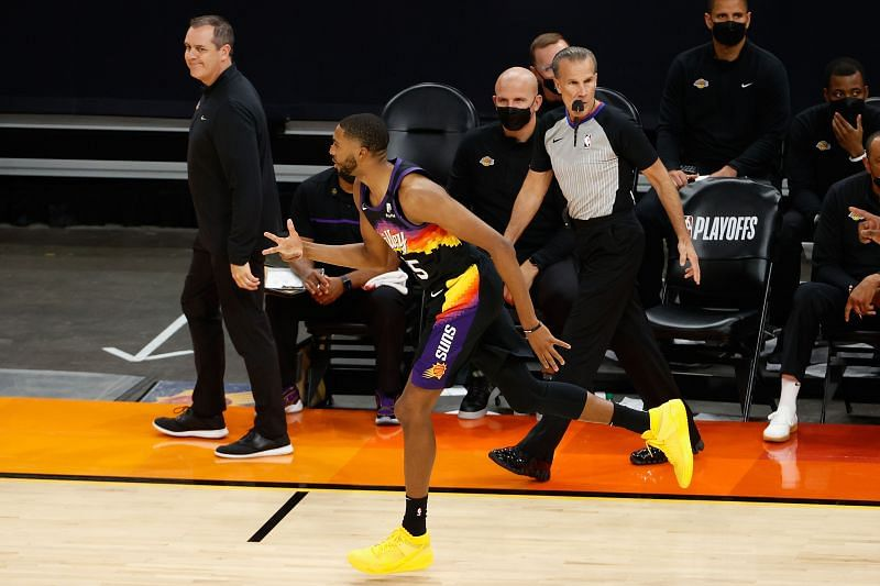 Phoenix Suns' Mikal Bridges has been electric all season