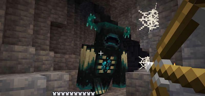 The Warden (Image via Minecraft on youtube)
