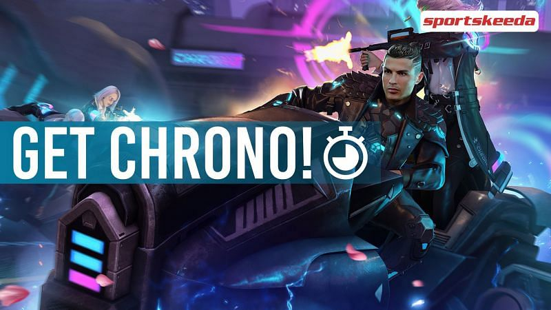 Players can claim and use the Chrono character for free today in Free Fire
