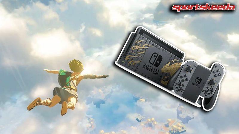 The rumored Nintendo Switch Pro might be coming in 2022, alongside Zelda BOTW2 (Image by Sportskeeda)