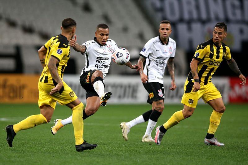 America Mineiro host Corinthians at the Arena MRV Stadium on Sunday