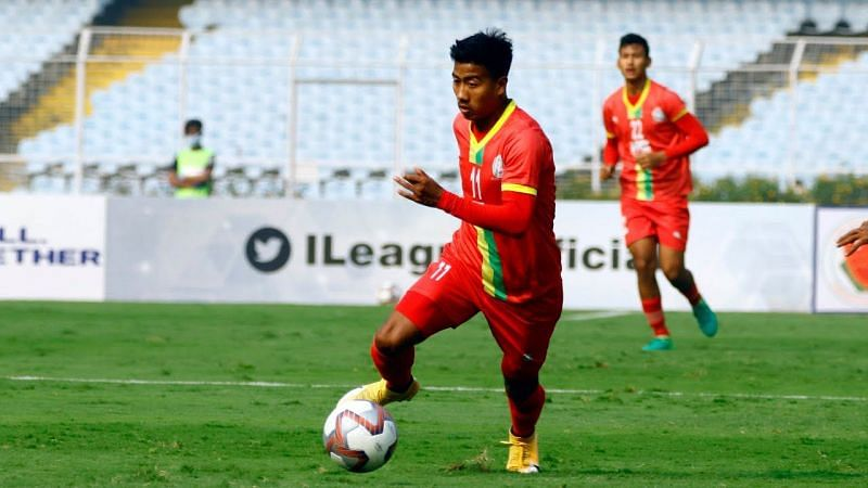 Youngsters like Bidyasagar Singh who have performed in the I-League will be hot properties for ISL clubs in key player positions. (Image: I-League)