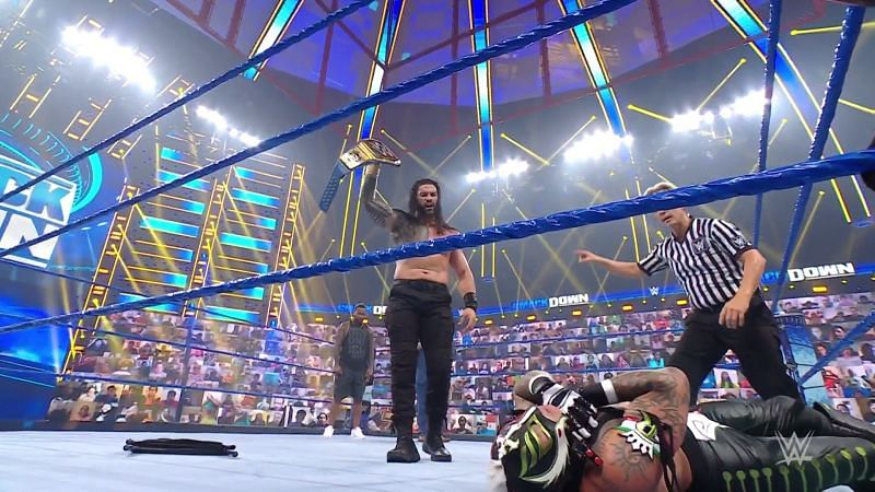 Roman Reigns has a shadow looming over him