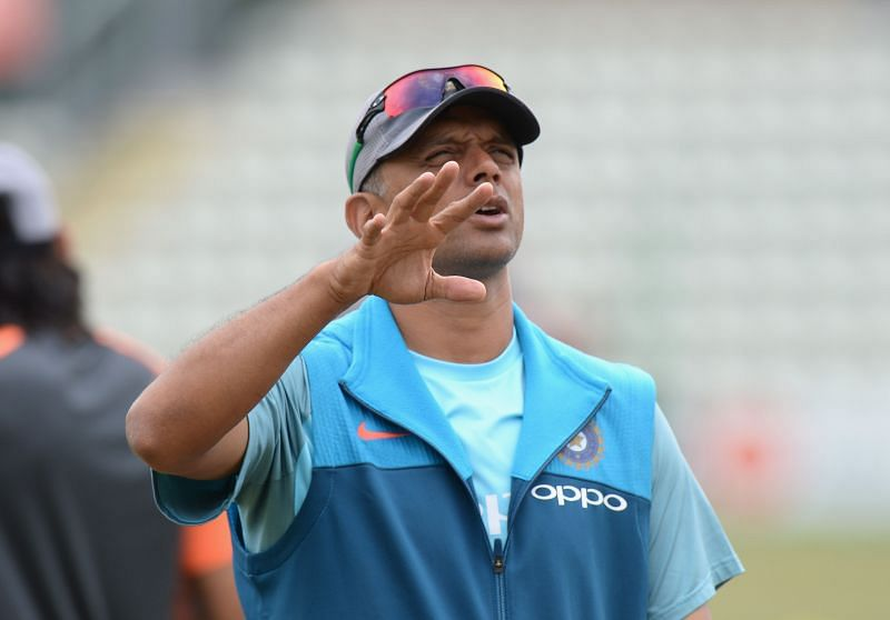 Rahul Dravid is the head of the National Cricket Academy (NCA).