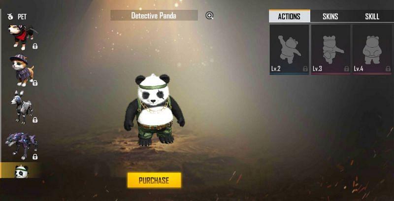 Detetive Panda em Fogo Livre