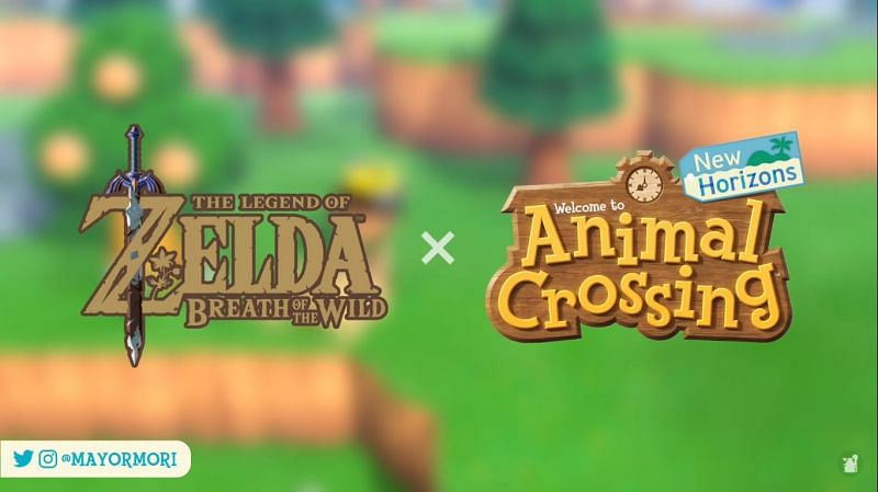 A crossover with the Legend of Zelda coming soon (Image via Mayor Mori)