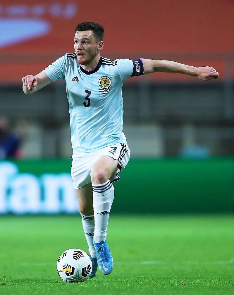 Andy Robertson will be captaining Scotland at Euro 2020