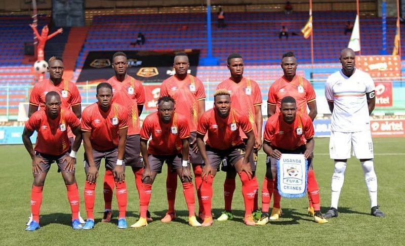 South Africa play host to Uganda on Thursday. Image via @ugandacranes Instagram