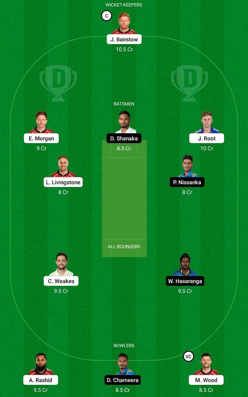 ENG vs SL 2nd ODI Dream11 Tips