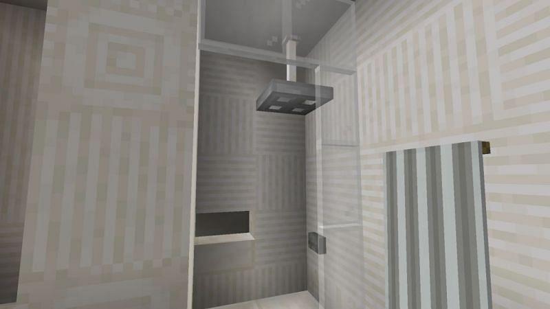 A stunning bathroom design (Image via minecraftfurniture.net)