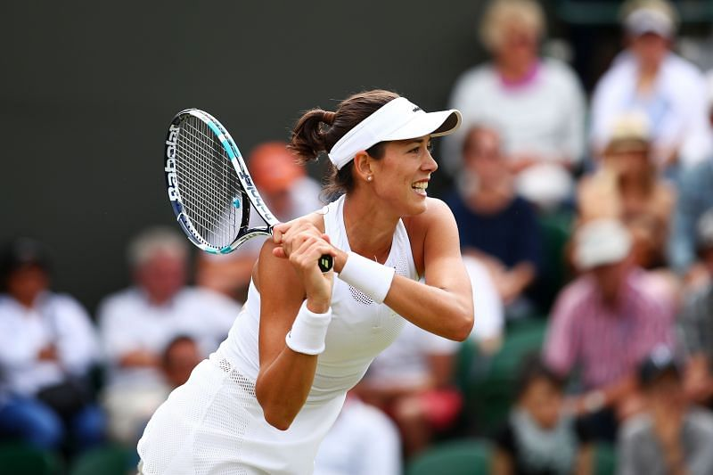 Muguruza will look to dictate play from the baseline.