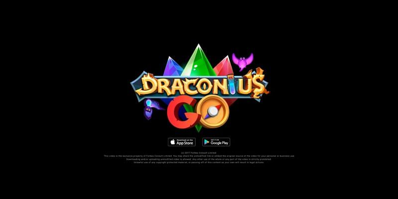 The game features more than 250 magical dragons and beasts (Image via Draconius GO, YouTube)