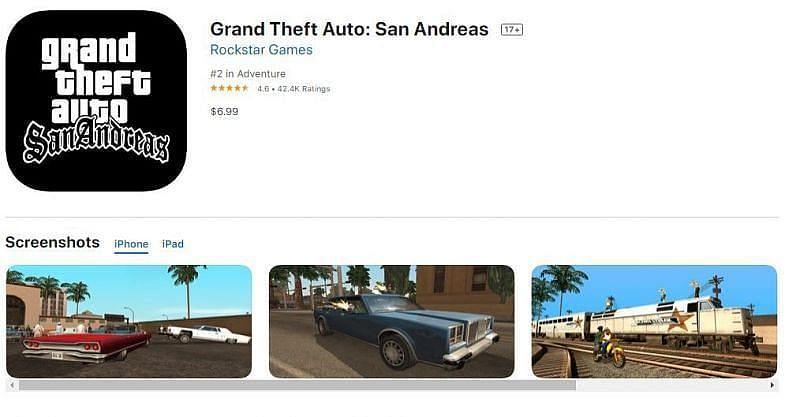 GTA San Andreas on the Apple App Store