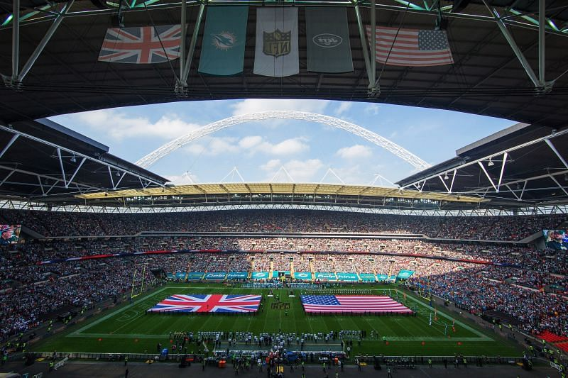 Miami Dolphins v New York Jets in London inNew York Jets v Buffalo Bills