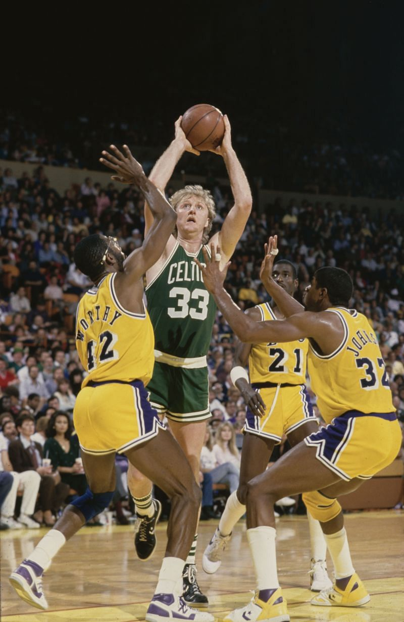 Larry Bird #33, Power Forward for the Boston Celtics