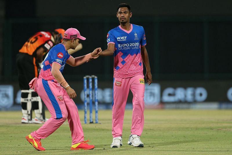 Mustafizur Rahman was an integral part of the Rajasthan Royals playing XI in IPL 2021 [P/C: iplt20.com]