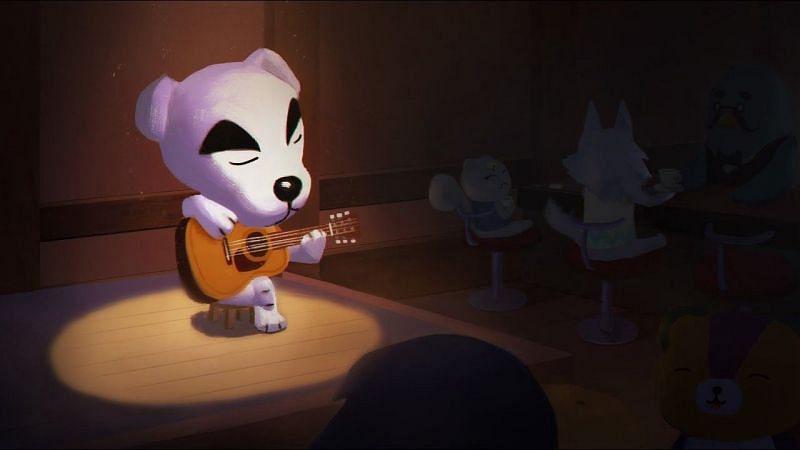 K.K. Slider performing in Animal Crossing. Image via SUPERJUMP
