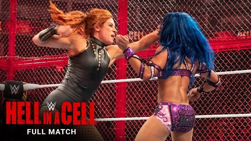 Becky Lynch vs. Sasha Banks