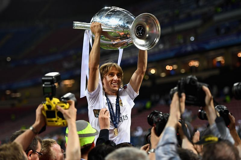 Luka Modric has experienced Champions League glory with Real Madrid