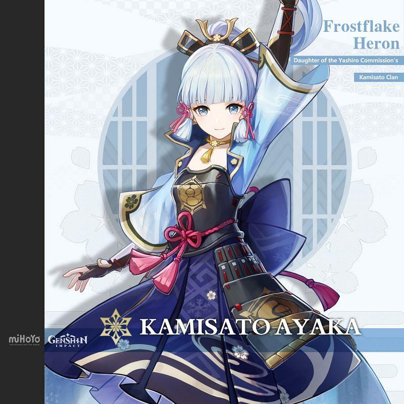 Ayaka (image via miHoYo)