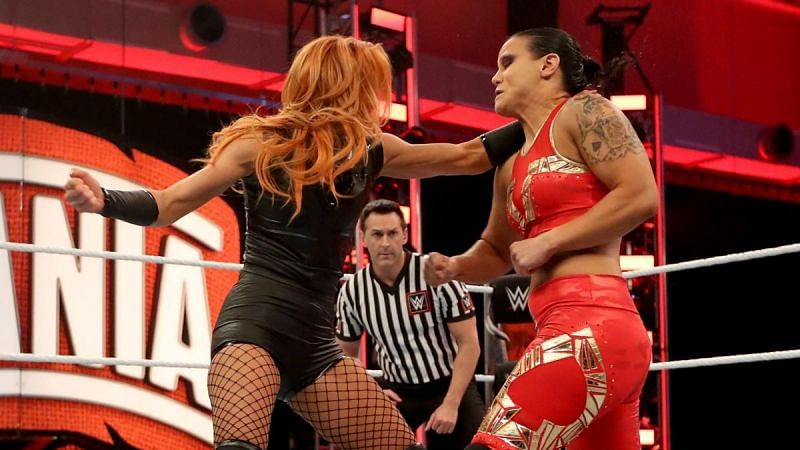 Shayna Baszler was unable to dethrone Becky Lynch as RAW Women's Champion