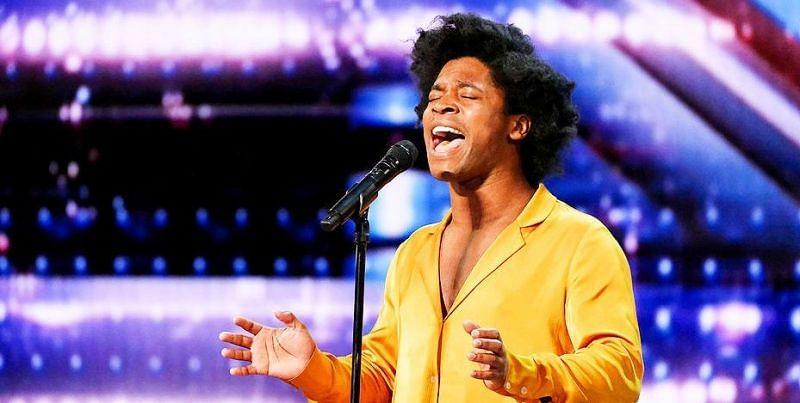 Singer Jimmie Herrod earns Golden Buzzer on AGT (Image via NBC/America's Got Talent)