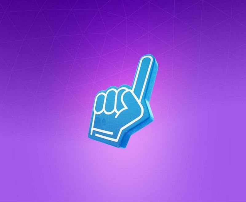 The Number One back bling in Fortnite (Image via Epic Games)
