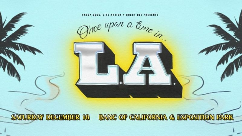 Once Upon a Time in LA 2021 is scheduled to take place this year. (Image via consequence.net)