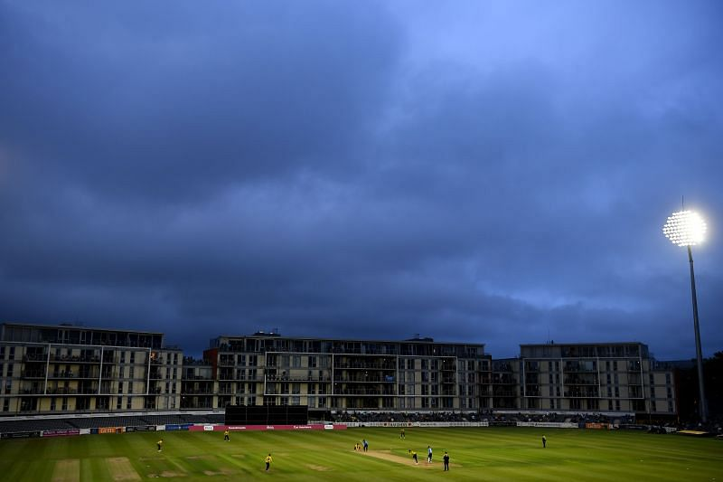 A photo from Gloucestershire's last outing against the Sussex Sharks