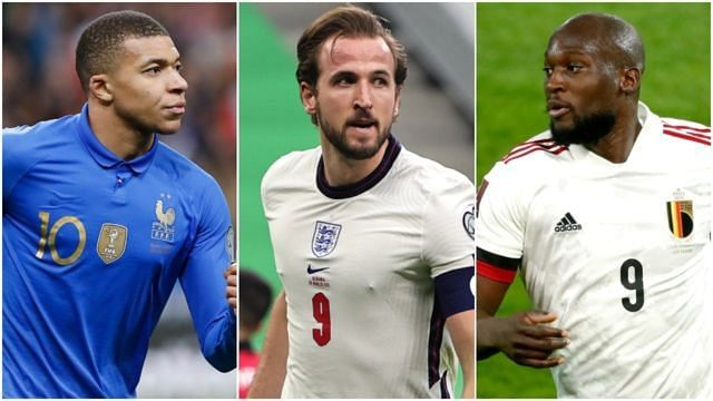 Kylian Mbappe, Harry Kane and Romelu Lukaku (from left to right) should be must-haves in Fantasy teams for Euro 2020.