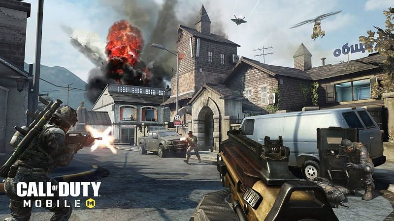 COD Mobile has a feature called scorestreak, taken from the original games (Image via Call of Duty)