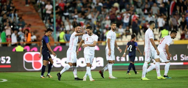 Iran beat Cambodia 14-0 in their last clash
